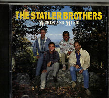 "THE STATLER BROTHERS....""WORDS AND MUSIC"".......HTF OOP COUNTRY CD"