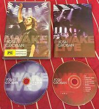 Josh Groban - Awake Live [CD/DVD] (Live Recording, 2008) NTSC format DVD + CD