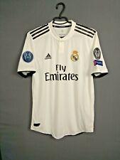 Real Madrid Jersey Authentic 2018/19 Home MEDIUM Shirt Mens Adidas CG0561 ig93
