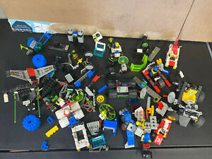 Vintage Lego Lot with Cars & Action Figures