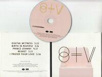 ST. VINCENT S/T Album Sampler 2013 European numbered 5-track promo only CD