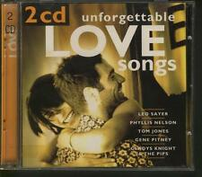UNFORGETTABLE Love Songs 2-CD Rachel Sweet Sandie Shaw Lynsey De Paul Melanie