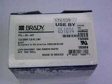 2 Rolls Brady TLS 2200 TLS-PC LINK #PTL-23-427 Labels