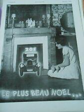 Publicitté Advertising 1930  La 201 Peugeot le plus beaul noel