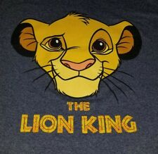 The lion king T-shirt 2XL for men 31x25