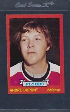 1973/74 Topps #183 Andre Dupont Flyers NM *465