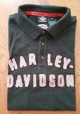 Harley- Davidson Poloshirt, XXL, schwarz