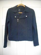 Women's New York & Company Navy Blue Zipper Jacket Size Small Regular