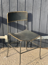 Metal vintage style kitchen chair