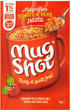Mug Shot Pasta Snack Tomato & Herb Flavour 5 x 64g - Will Ship Worldwide From UK