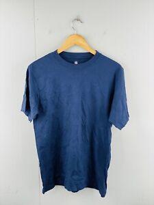 NFL Team Apparel Men's Vintage Short Sleeve Crew Neck T Shirt Size M Blue