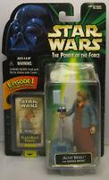 1998 Kenner Star Wars Aunt Beru & Droid POTF 2 Flashback New & Sealed Figure MOC
