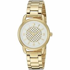 KATE SPADE NY Boathouse Gold-Tone Stainless Bracelet Watch 30mm KSW1166 $225.00