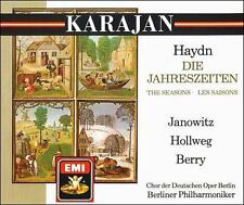 Haydn: The Seasons (CD, Apr-1988, 2 Discs, EMI Music Distribution) NEW W Germany