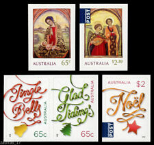 2018 Christmas - Set of 5 Booklet Stamps - MUH
