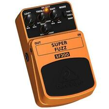Behringer Super Fuzz SF300 3-Mode Distortion Effects Pedal