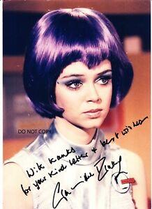"GABRIELLE DRAKE  ""UFO  tv series""  A4 autograph  signed photo"