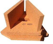 "1"" inch Clay Fire bricks cooker pizza oven firebricks BBQ set of 15 (61173)"