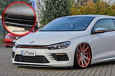 Spoilerschwert Frontspoiler ABS für VW Scirocco R Facelift ABE schwarz glänzend