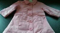 Baby Girls  coat  next age 6 to 9 months pink