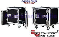 Australian Roadie 12RU  Alloy-Composite Rack Case with Casters