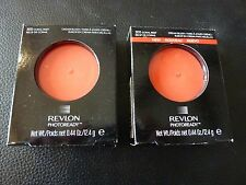 Revlon PhotoReady Cream (Creme) Blush - CORAL REEF #300 - TWO Brand New / Boxed