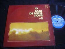 IO ANOS DE BOSSA NOVA N°2/JOAO GILBERTO/BADEN POWELL/BRASIL PRESS 1972