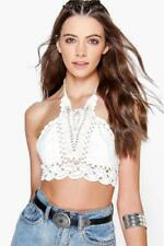 Boohoo Cropped Tops & Shirts Size Plus for Women