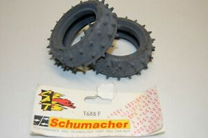 "Tamiya Falcon Associated RC10 2.0"" Spike Tire Schumacher T688 F Classic Vintage"