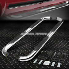 "FOR 01-03 FORD F150 CREW/SUPERCREW CAB CHROME 3""SIDE STEP NERF BAR RUNNING BOARD"