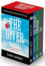 Lois Lowry Collection The Giver Quartet Series 4 Books Set Son, Giver, Messenger