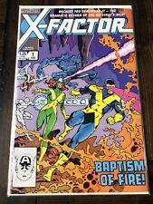 X-Factor #1 Baptism of Fire! Marvel Comics Direct February 1985 VF/NM X-Men