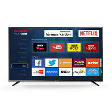 "Sharp 40"" Inch LED Smart TV Television Full HD 1080p with Freeview HD + Saorview"