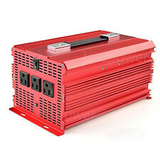 BESTEK Power Inverters 2000W Watt 12V DC to 110V AC 3 Outlets Modified Sine Wave