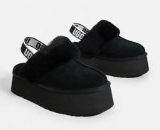 UGG Funkette Slide Black Slipper Clog Women's US sizes 5-11/NEW!!!