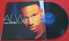 "TEVIN CAMPBELL *** Always In My Heart *** VERY RARE 12"" PROMO SINGLE 1994"