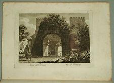 1818.Inc/Rame.ROMA: ARCO DI DRUSO - ARC DE DRUSUS .par NIBBY-Parboni-Ruga