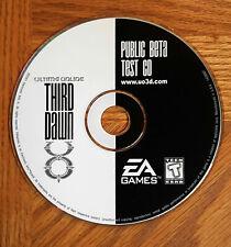Ultima Online 3rd Dawn Public BetaTest Cd - Origin *Collectible*