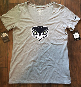 SEATTLE SEAHAWKS NFL WOMEN'S V-NECK Shirt GRAY T-SHIRT NIKE TEE 🏈$35