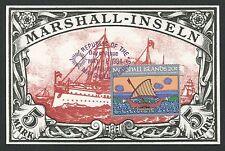 MARSHALL ISLANDS MK SCHIFFE SHIPS SHIP MAXIMUMKARTE CARTE MAXIMUM CARD MC d1664