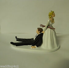 Wedding Reception Party Hunter Hunting Cake Topper Rifle Gun Humorous