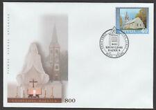 Latvia FDC 2005, Krimulda Church
