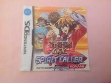 Yu-Gi-Oh GX Spirit Caller Instruction Book Manual (no Game)