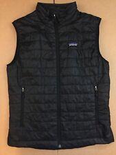 Men's Patagonia Lightweight Primaloft Nano Puff Vest Size Medium (Black)