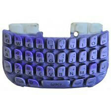 Blackberry Curve 3G 9300 Keypad Keyboard Qwerty Buttons Repair Part Lilac UK