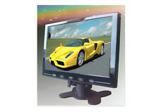 US HD 9'' 1024*600 Ultra Thin TFT LCD Color AV HDMI VGA Car Rear View Monitor