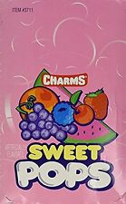 Charms Assorted Sweet Pop Lollipops Candy Suckers Lollipop (Pack of 100) FRESH