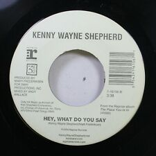 90'S 45 Kenny Wayne Shepherd - Hey, What Do You Say / Alive On Reprise Records