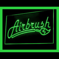 200089 Airbrush Art Paint Spray Tanning Tattoo Display LED Light Sign