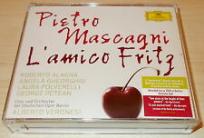MASCAGNI-L'AMICO FRITZ-2xCD 2009-VERONESI-ALAGNA/GHEORGHIU/POLVERELLI-MINT